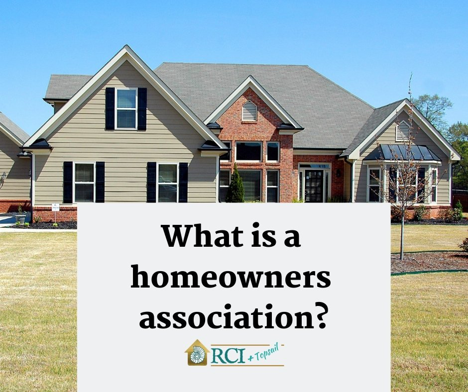 What is a home owners association?