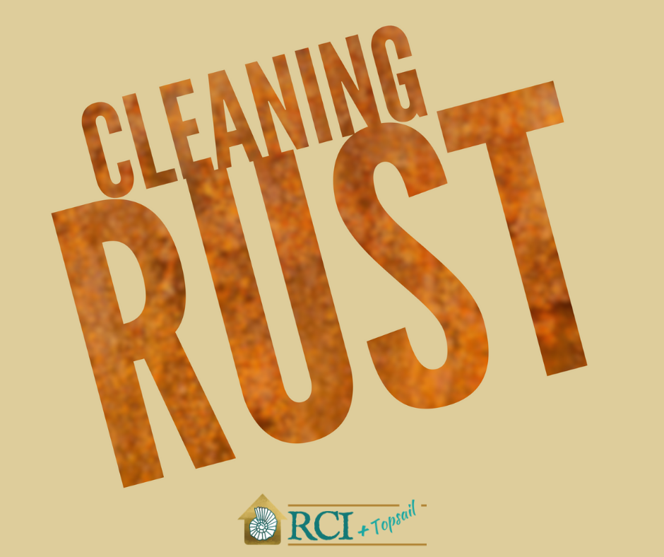 Cleaning Rust - RCI Plus Topsail