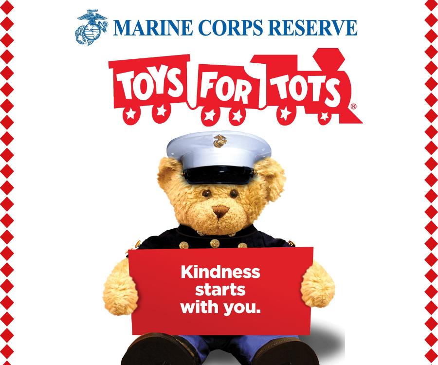 Marine Toys for Tots Camp Lejeune - RCI Plus Topsail