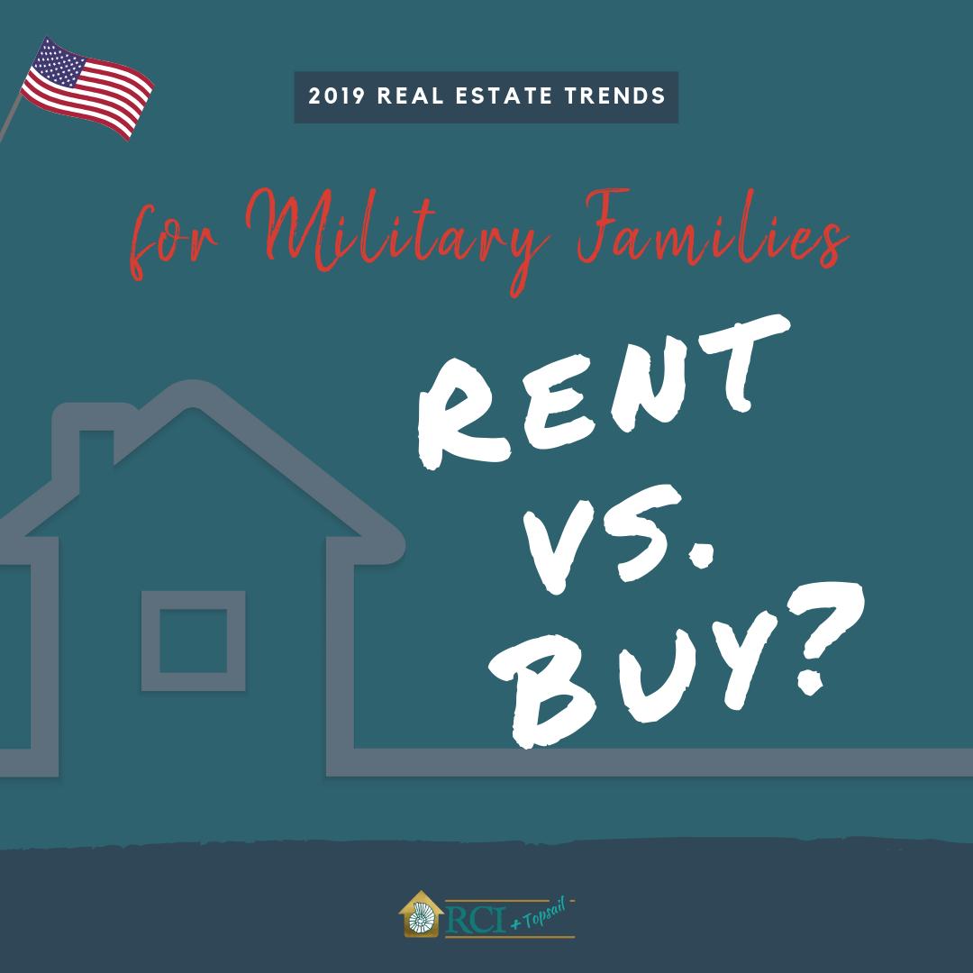 Military Families Rent Vs Buy - RCI Plus Topsail
