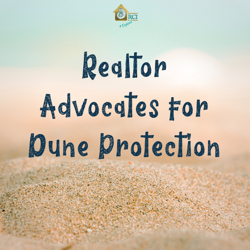 Realtor advocates for dune protection - RCI Plus Topsail