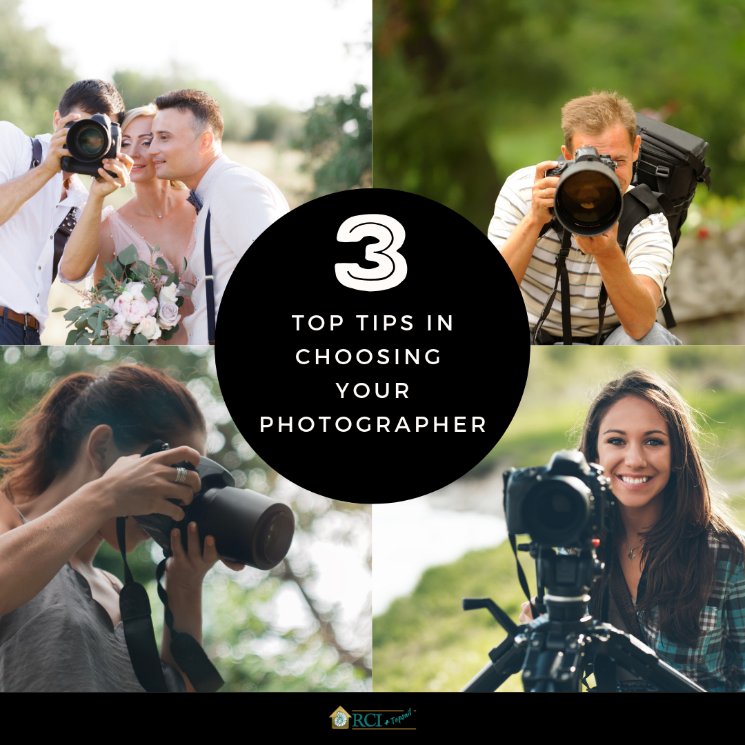 Top 3 Tips in Choosing Your Photographer - RCI Plus Topsail