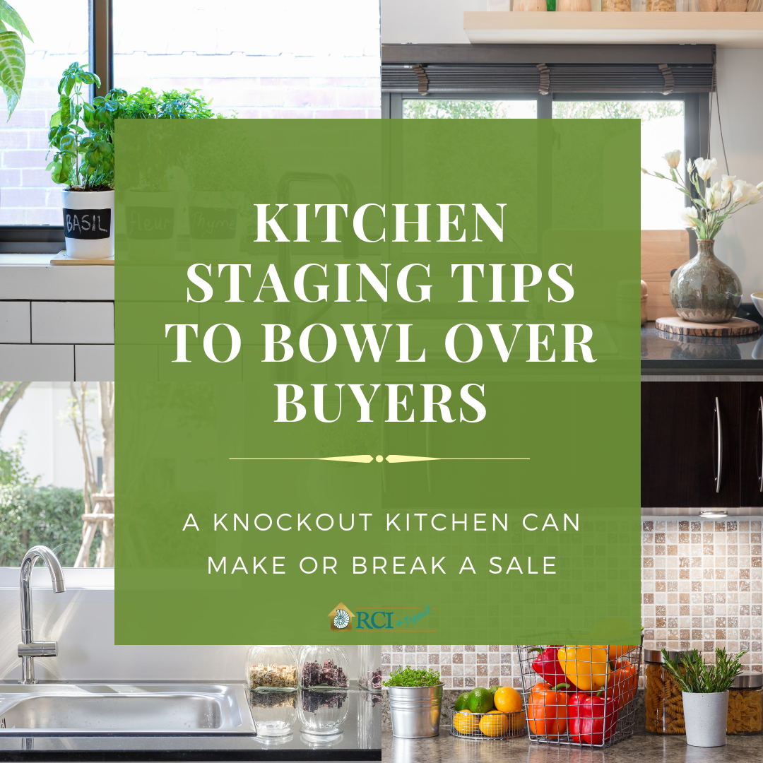 Kitchen Staging Tips - RCI Plus Topsail