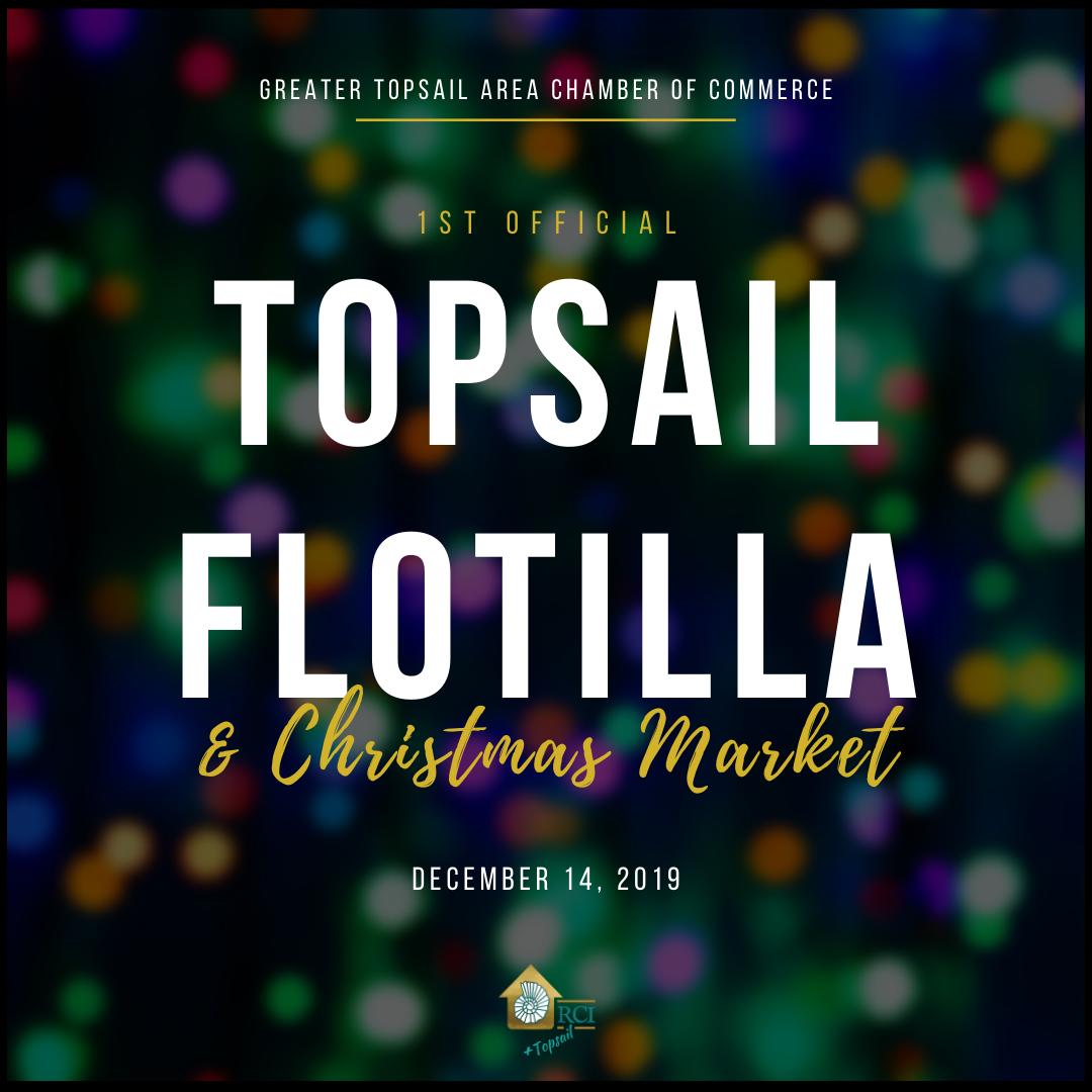 1st Official Topsail Flotilla - RCI Plus Topsail