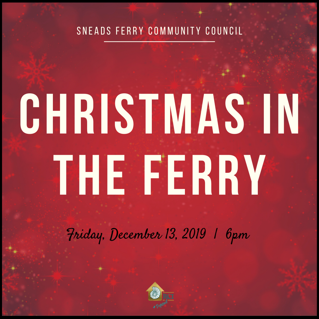 Christmas in the Ferry - RCI Plus Topsail