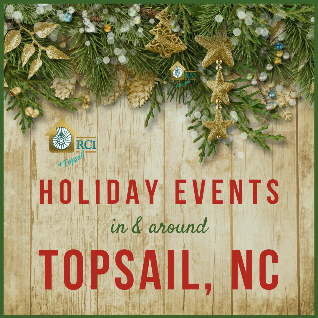 Holiday Events Around Topsail, NC - RCI Plus Topsail