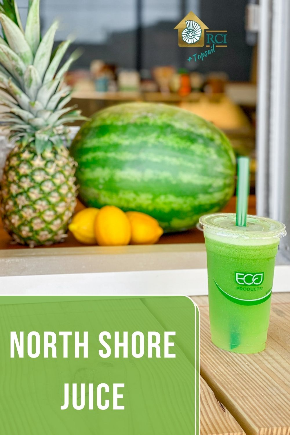 north shore juice new to surf city - RCI plus topsail