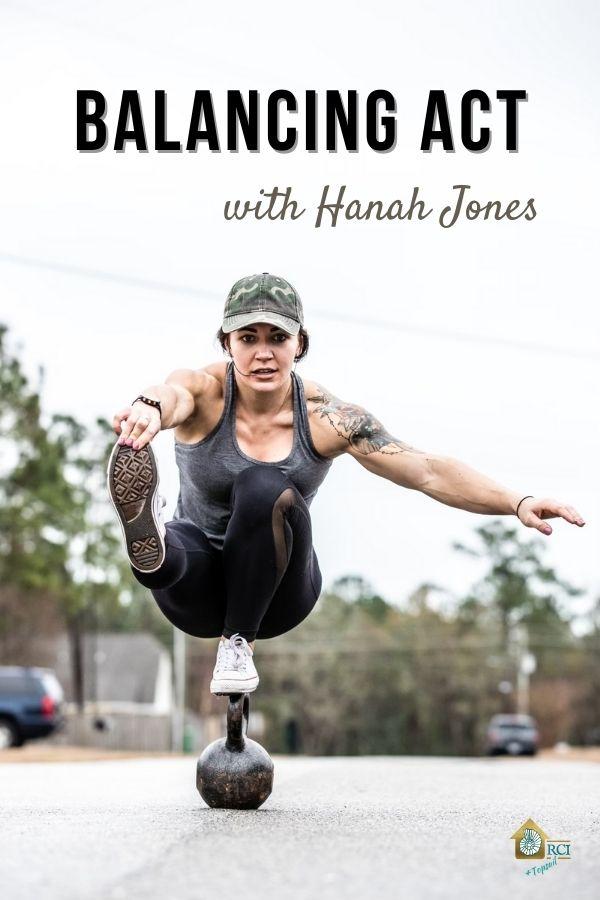 A Balancing Act with Hanah Jones - RCI Plus Topsail